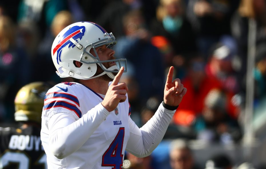 Bills kicker Stephen Hauschka. (James P. McCoy/Buffalo News)
