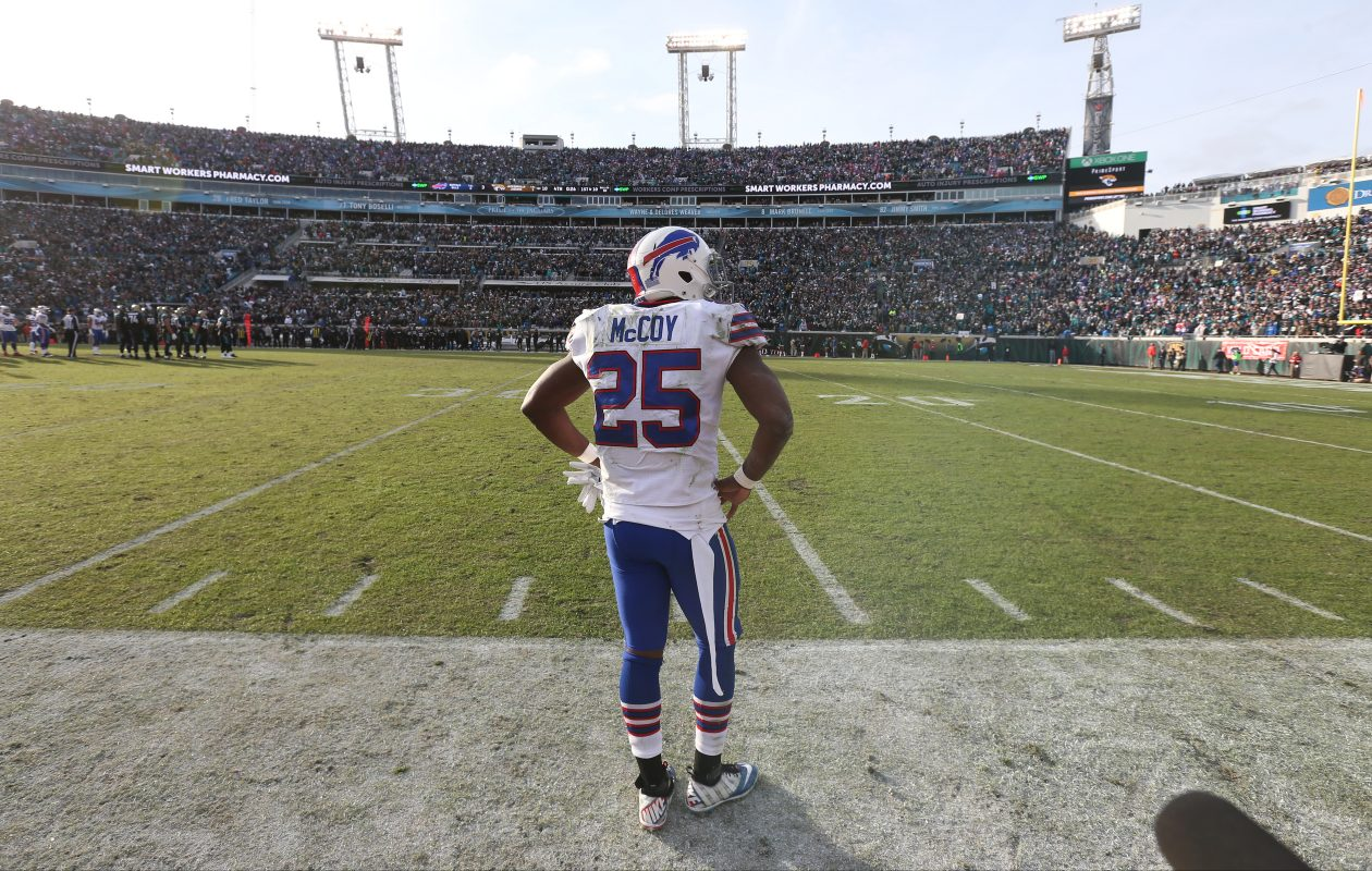 Delicia Cordon's attorney  has revealed that her client is no longer sure about LeSean McCoy's involvement in Tuesday's incident. (James P. McCoy/News file photo)