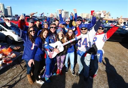 Buffalo fans flood Jacksonville stadium before Bills-Jaguars
