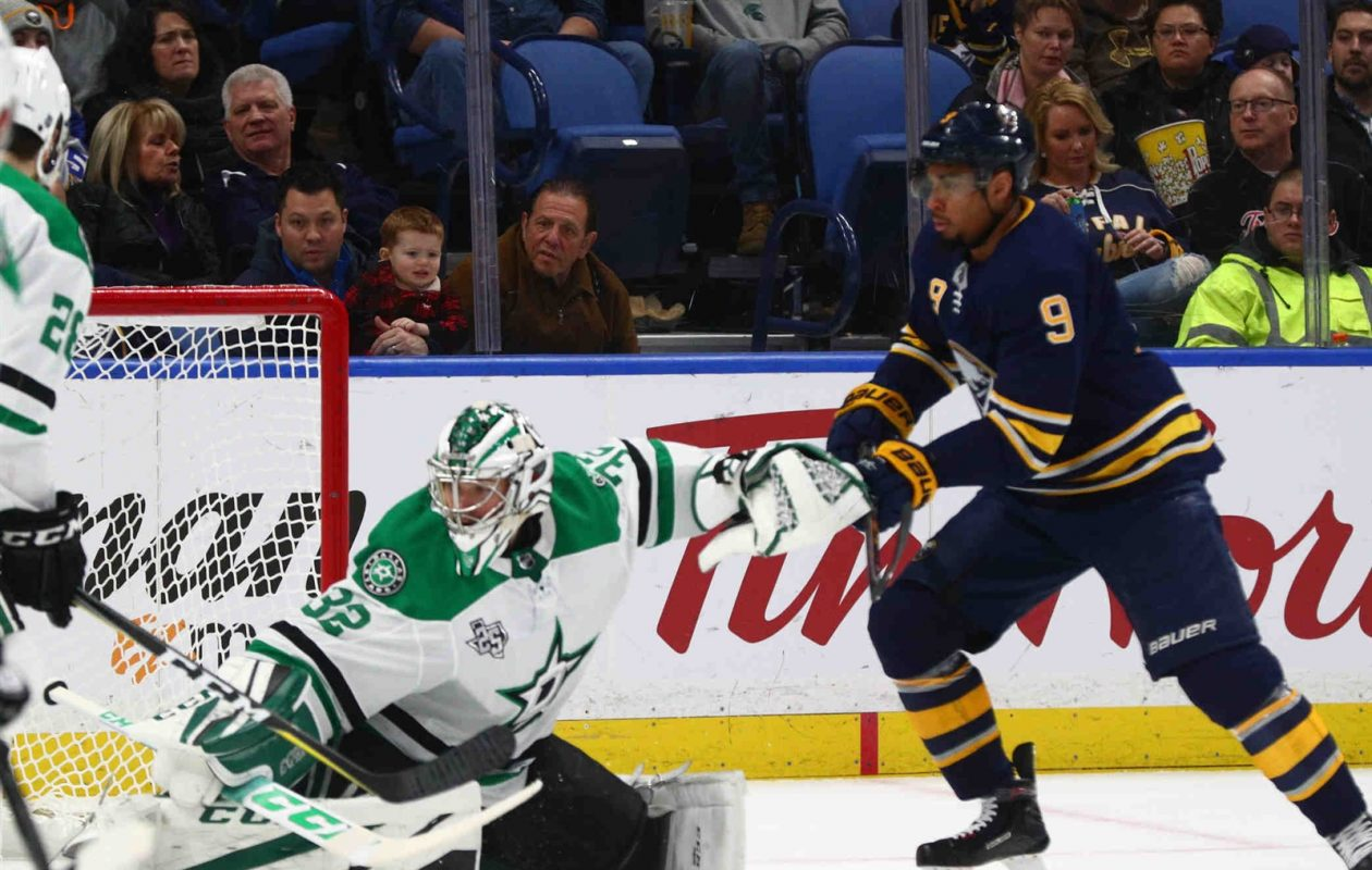 Evander Kane says things snowballed for the Sabres after a slow start. (James P. McCoy/Buffalo News)