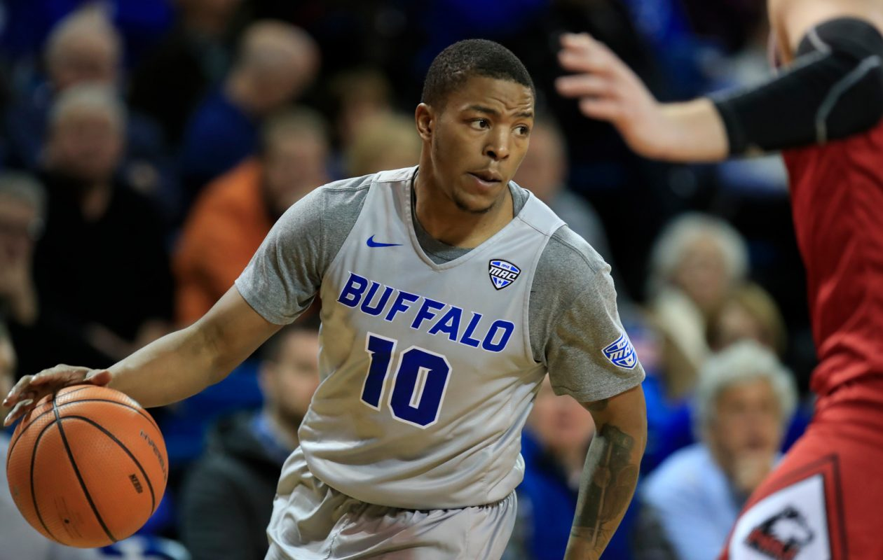 University at Buffalo guard Wes Clark is making a major impact after missing the start of the season. (Harry Scull Jr./ Buffalo News)