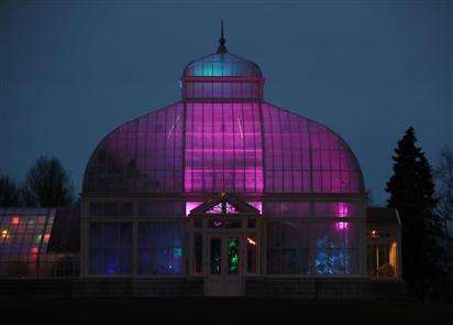 Lumagination transforms the Botanical Gardens
