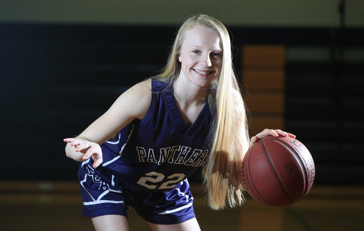 Franklinville basketball standout Danielle Haskell. (Harry Scull Jr./Buffalo News)