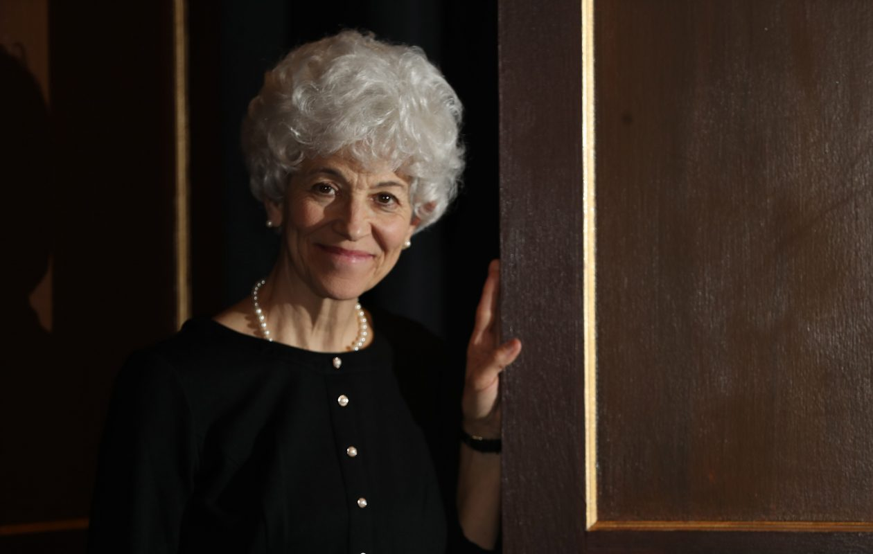 Christina Rausa plays the title character in Jewish Repertory Theatre's  'Rose,' about a holocaust survivor who made a new life for herself in America. (Sharon Cantillon/Buffalo News)