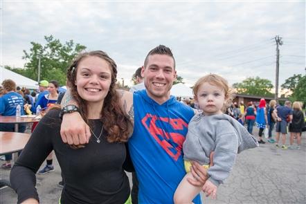 Smiles at Superhero Race in Delaware Park