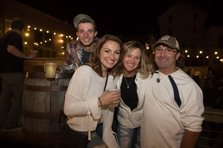 Smiles at 42 North taproom's second anniversary party