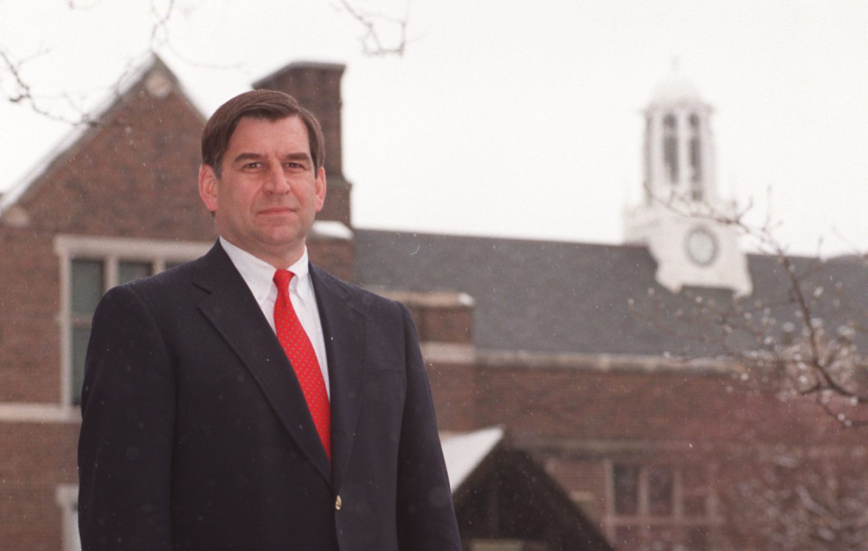 Richard Bryan left his position as headmaster of Nichols School in 2013. (Sharon Cantillon/News file photo)