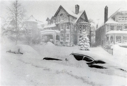It never achieved the legendary status of its predecessor from eight years earlier, but the Blizzard of 1985 left its mark. Memories of a driving ban and a week without school have faded, but the advice of Mayor Jimmy Griffin to grab a six-pack and stay at home may live forever.