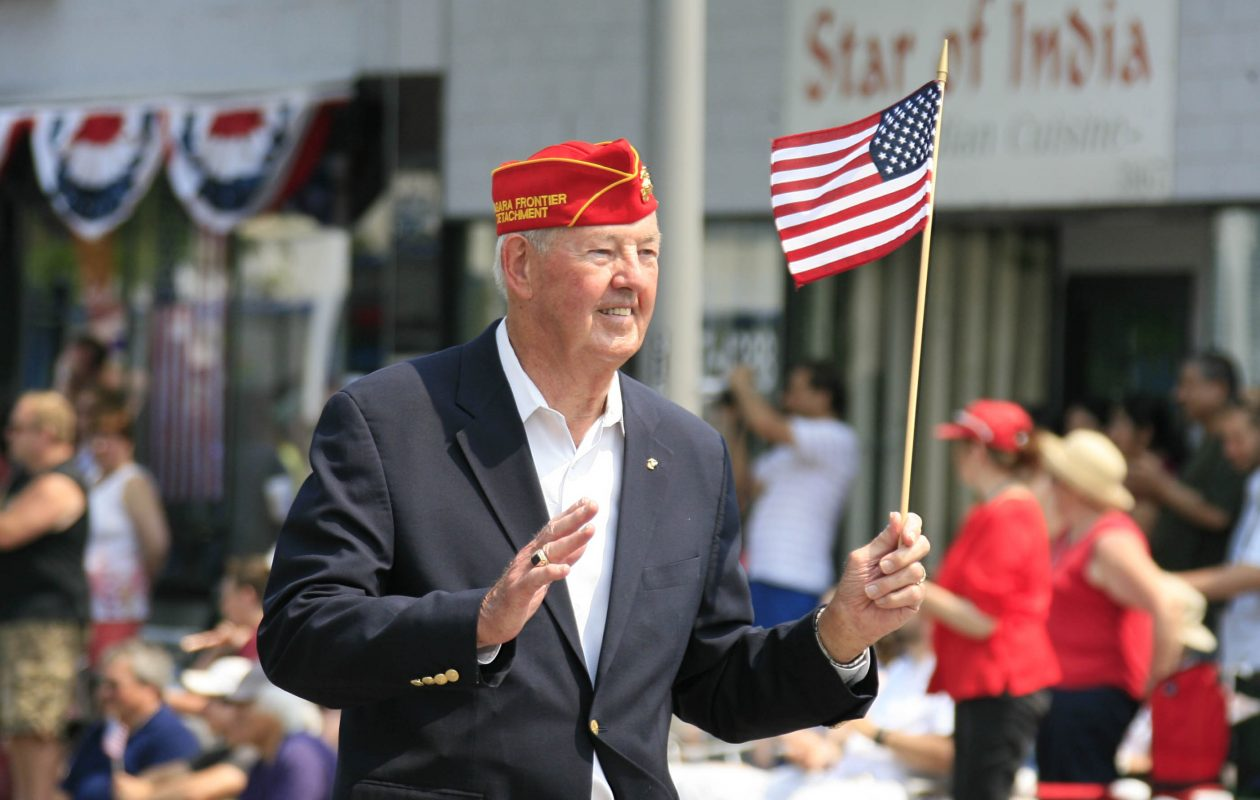 Former Erie County Sheriff Thomas Higgins, pictured in the Memorial Day parade in Kenmore in 2010, passed away on Tuesday. (News file photo)