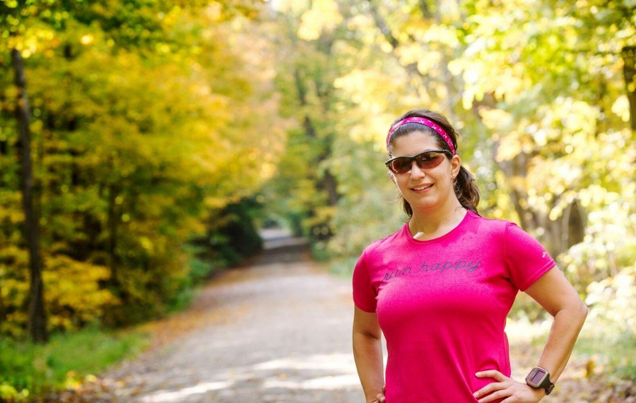 Buffalo News sportwriter Amy Moritz became an avid runner as an adult. (Tara Freeman/Special to the News)