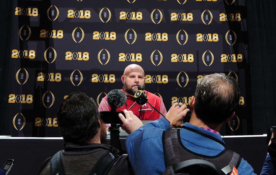 Alabama Crimson Tide offensive coordinator Brian Daboll is headed to New Era Field. (Getty Images file photo)