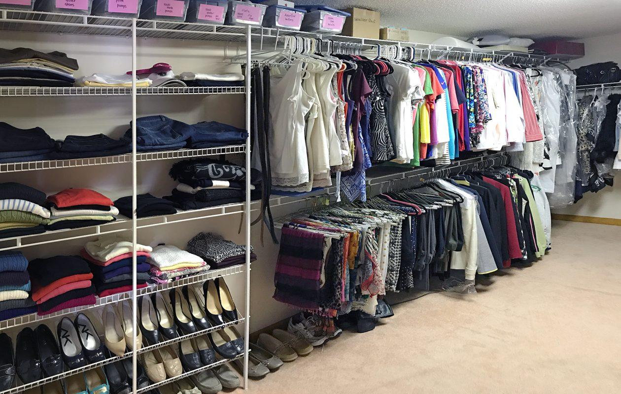 hanging system organizer closet for rod vertical sweater itm shelving standing adjustable