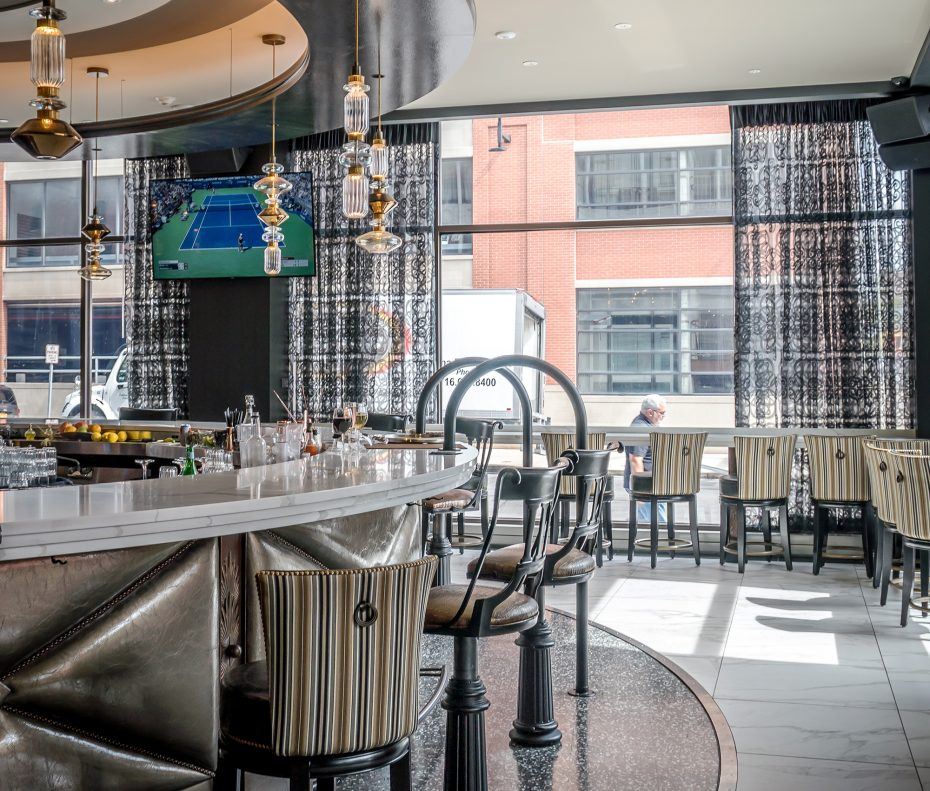 Curtiss Hotel revolving bar | Buffalo Magazine