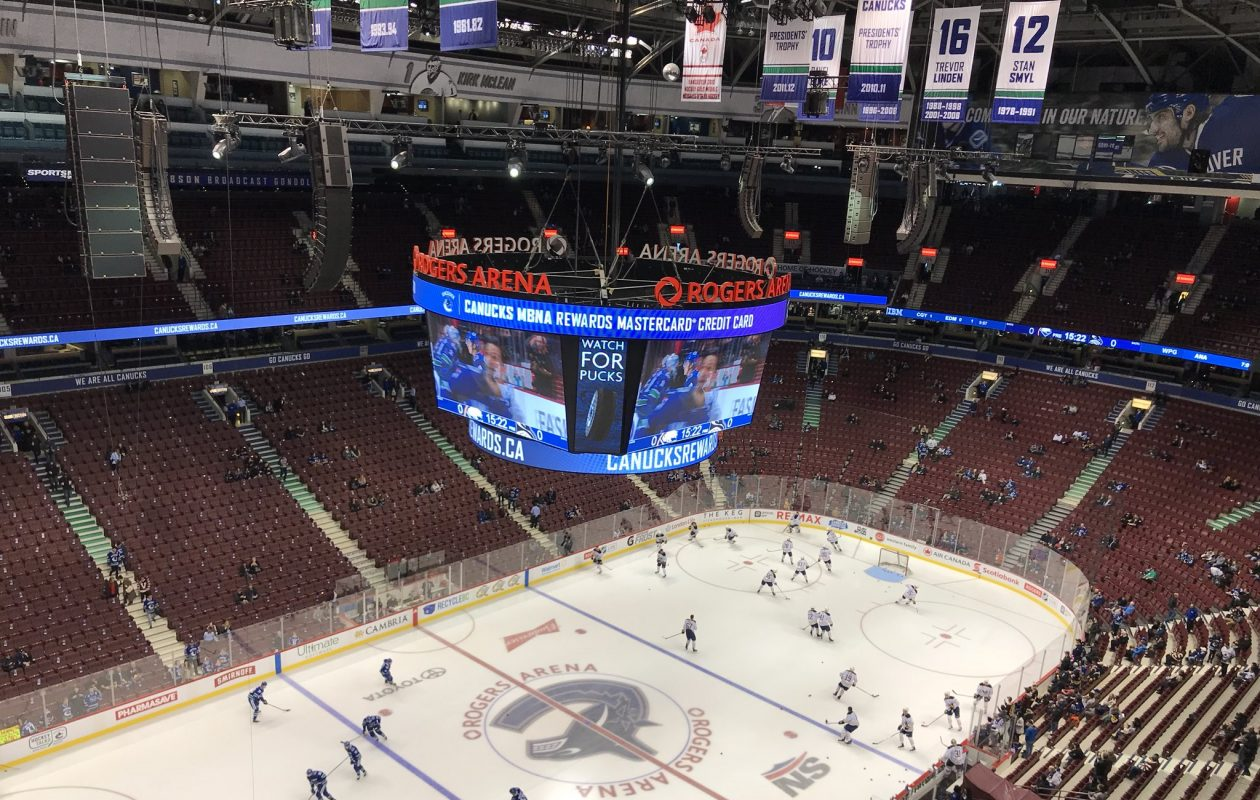 The Sabres face the Canucks in Vancouver. (John Vogl/Buffalo News)