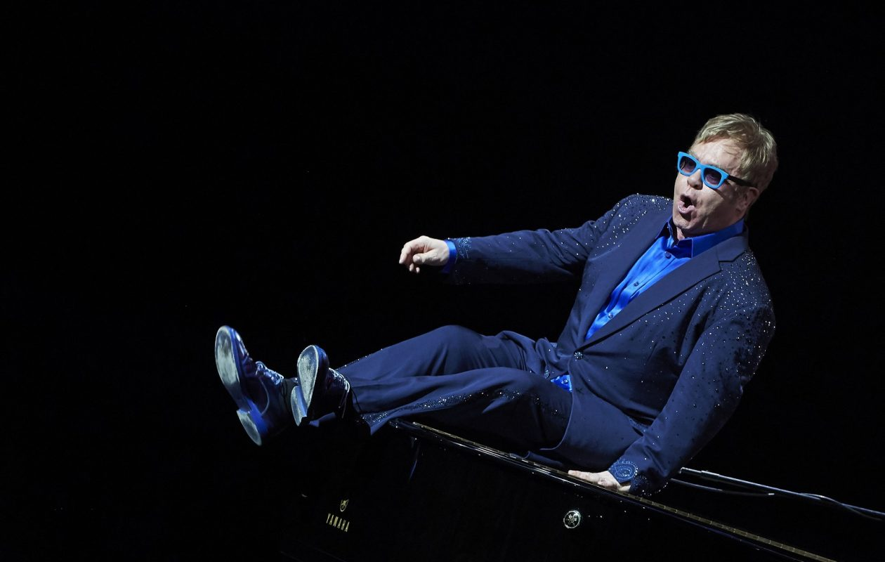 Elton John. (Photo by Getty Images)