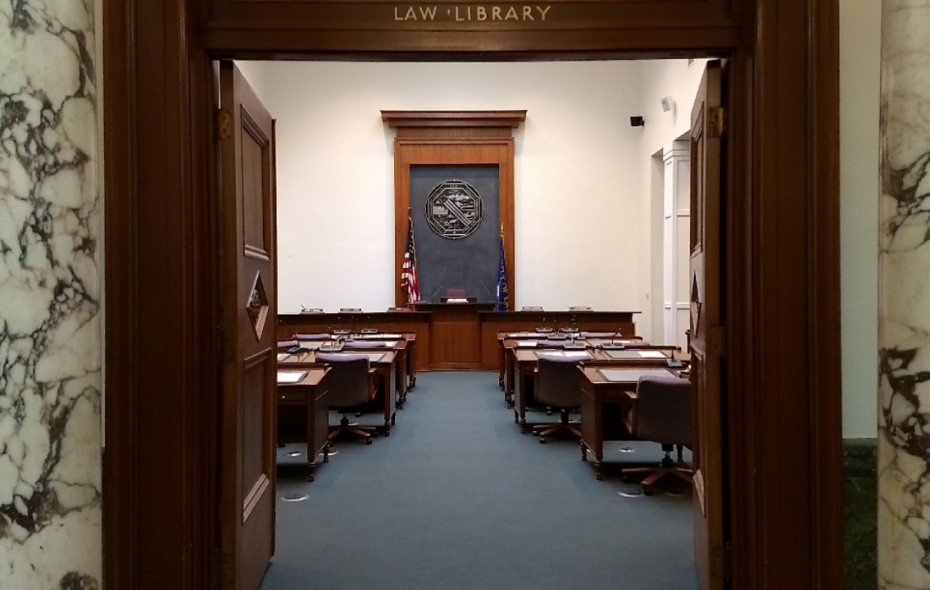 Erie County Legislature chambers. (Sandra Tan/Buffalo News)