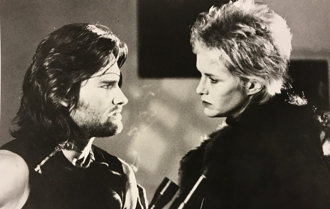 Kurt Russell, and Season Hubley star in John Carpenter's 'Escape from New York.'