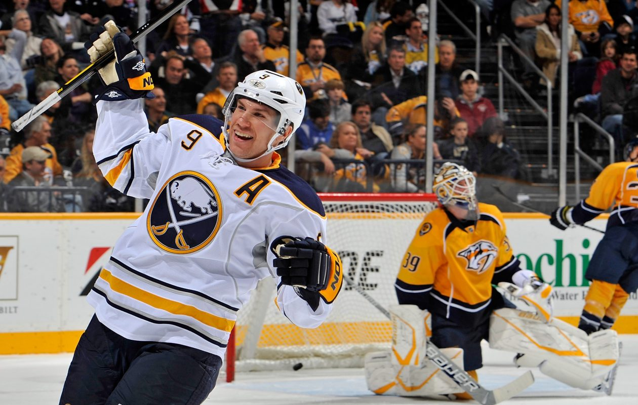 Derek Roy played in Buffalo from 2003 to 2012. (Getty Images)