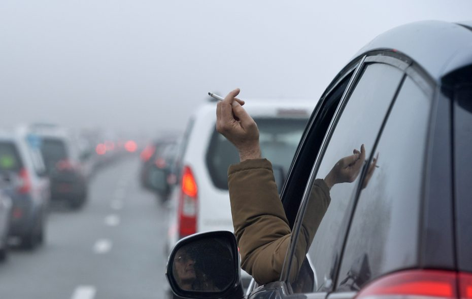 A new law could restrict smoking in cars if children are passengers. (Getty Images)