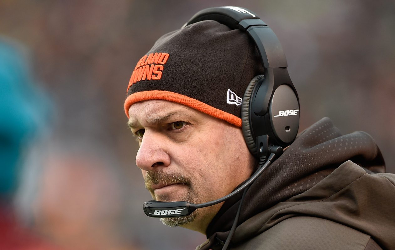 Former Browns coach Mike Pettine will be the Packers' defensive coordinator (Jason Miller/Getty Images)