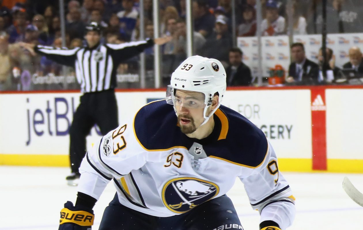 Experience is the ultimate teaching tool, but Sabres defenseman Victor Antipin has had to learn by watching, too. (Getty Images)