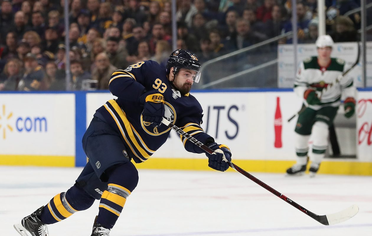 Sabres defenseman Victor Antipin has played only four games since Dec. 1. (Getty Images)