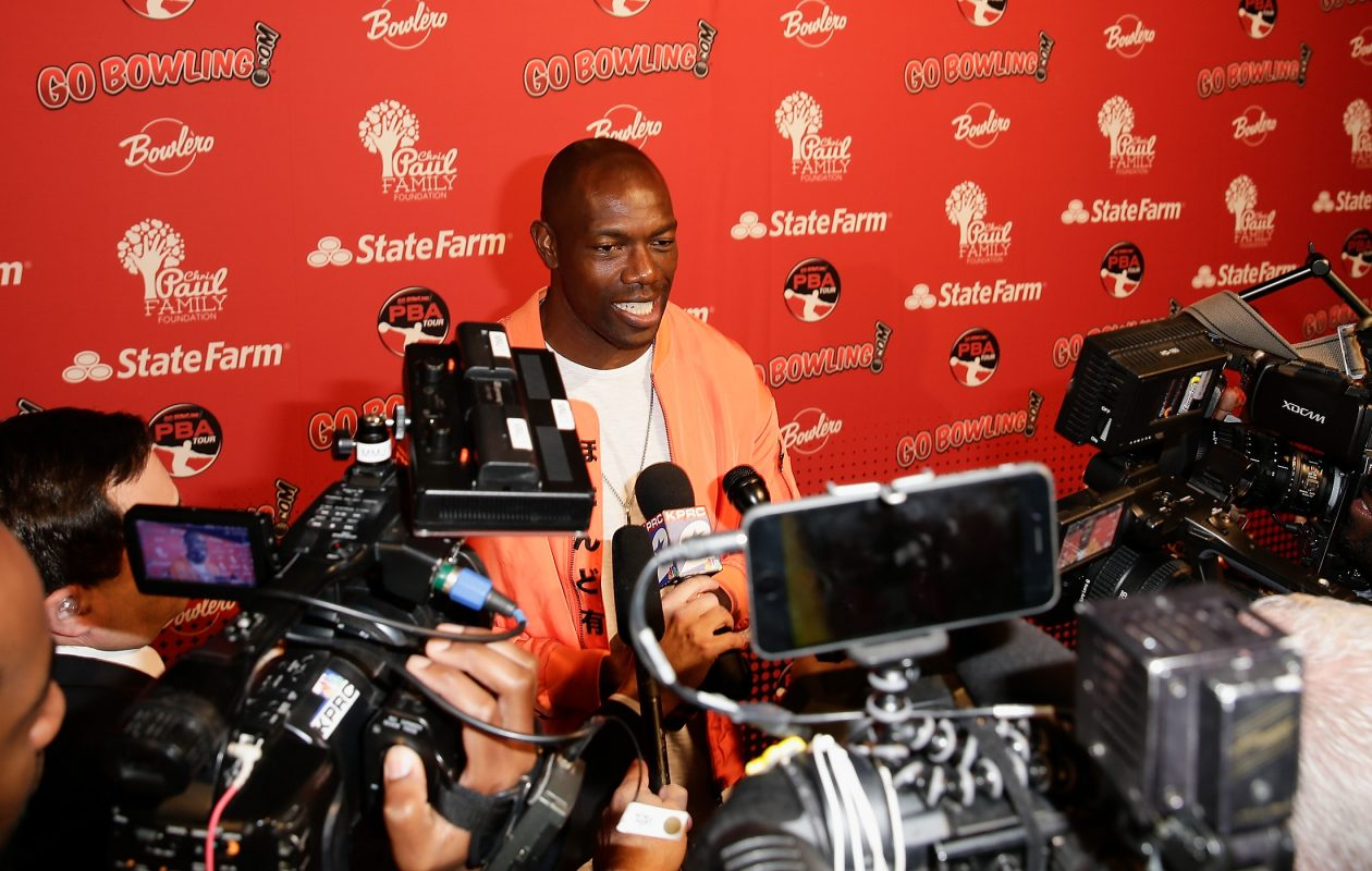 Terrell Owens is a Hall of Fame finalists (Bob Levey/Getty Images)