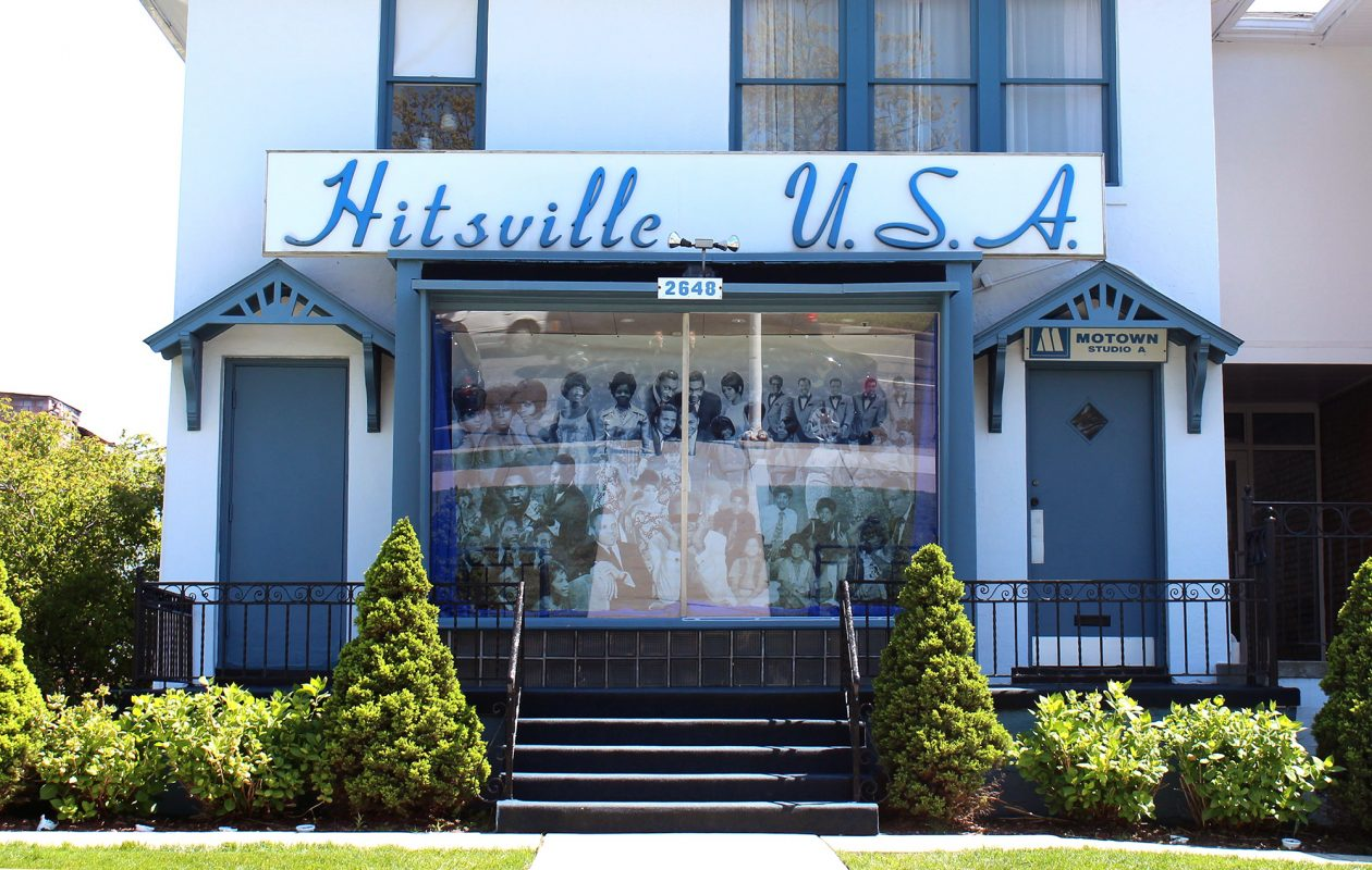 A $50 million expansion is planned for the Motown Museum at its current site. (Bill Bowen)