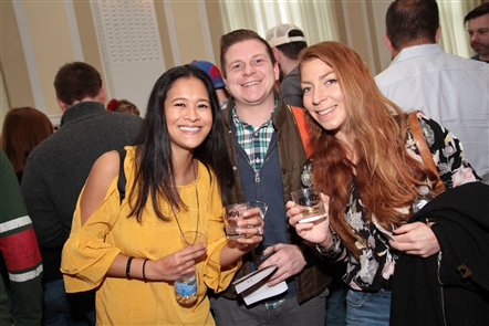 Smiles at Buffalo Whiskey Fest