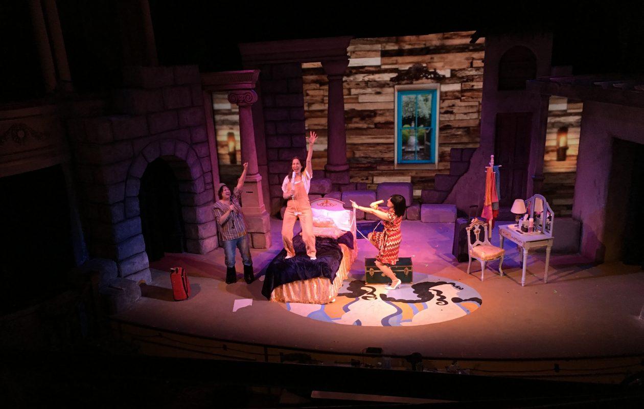 The Kavinoky Theatre's production of 'Mamma Mia' runs Jan. 5 to 28.