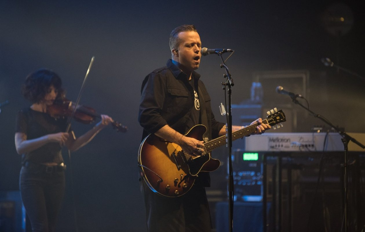 Country star Jason Isbell, who won two Grammy Awards this past weekend, performed in the UB CFA on Jan. 30, 2018. (Matt Weinberg/Special to The News)