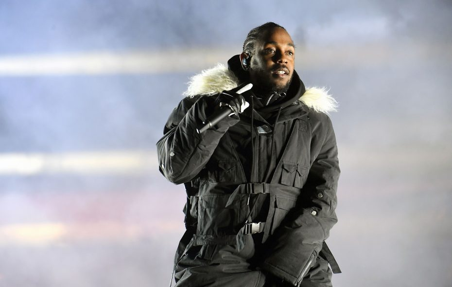 Rapper Kendrick Lamar, pictured performing during the College Football Playoff Championship Game in 2018, has announced a Darien date.  (Paras Griffin/Getty Images)