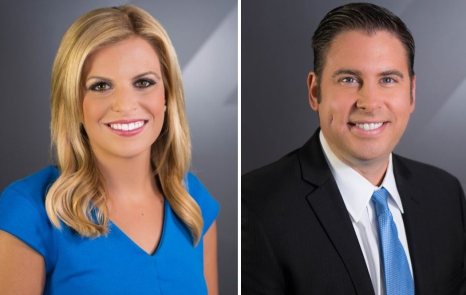 It's been a slow start for News 4 at 6:30. (photos via WIVB)