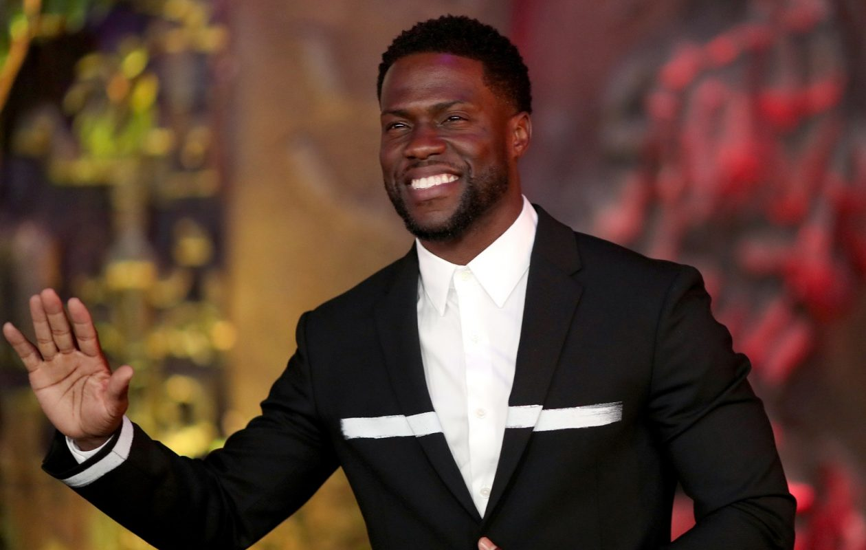 Kevin Hart, pictured at the premiere of 'Jumanji,' will perform in Buffalo on May 6. (Christopher Polk/Getty Images)