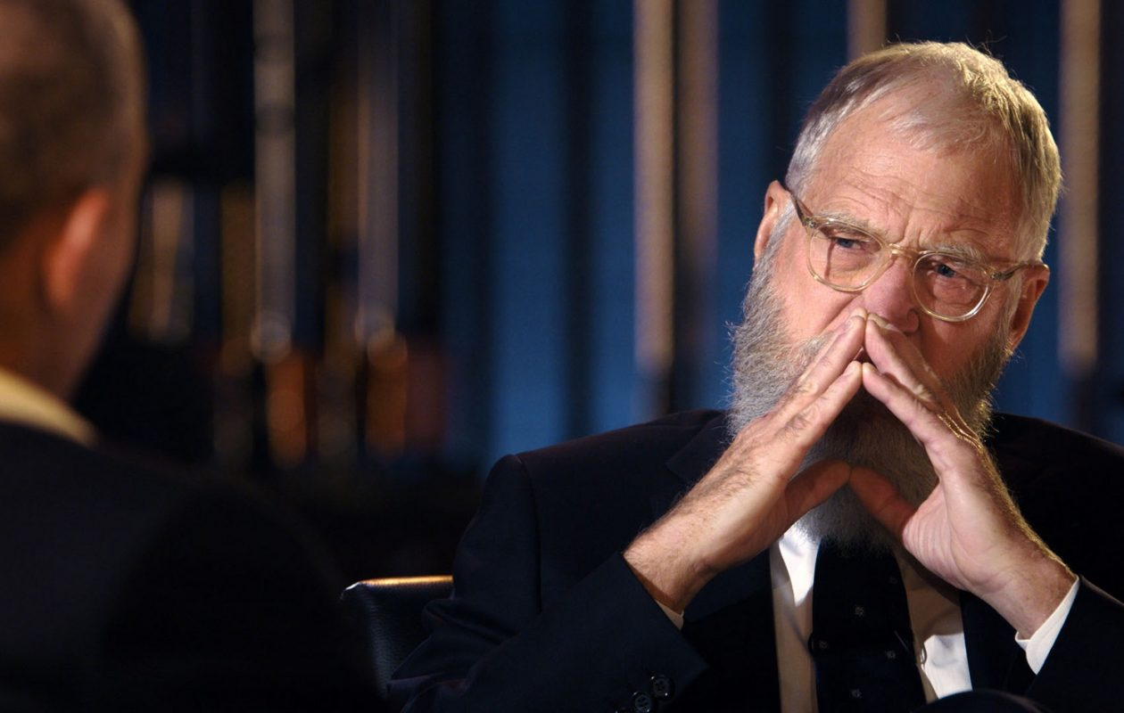 David Letterman on 'My Next Guest Needs No Introduction with David Letterman.' (Netflix)