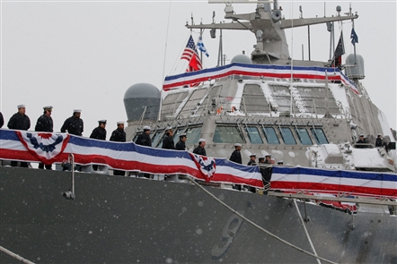 Commissioning of USS Little Rock in Buffalo