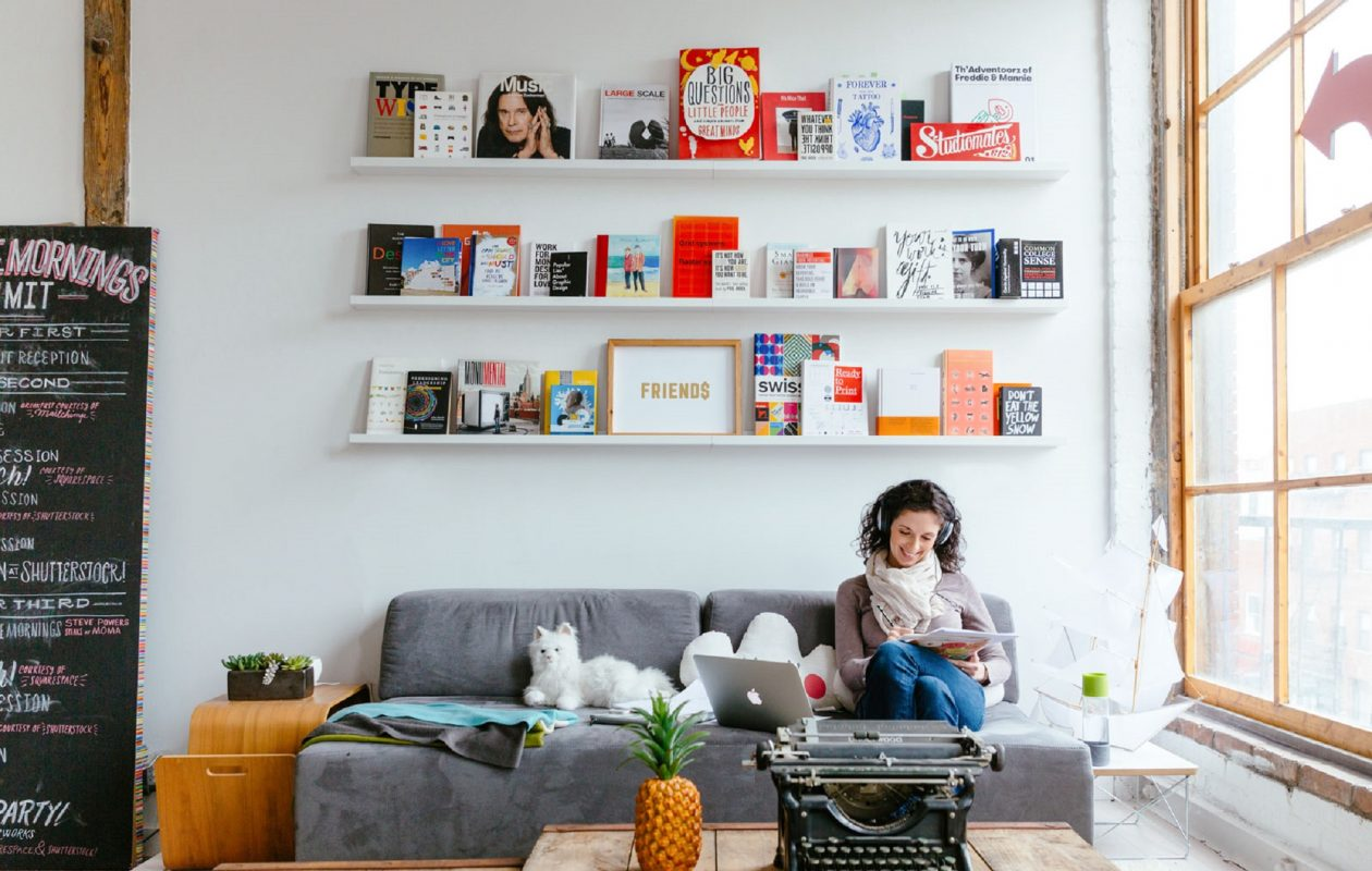 'Picture books, to me, were almost like a gallery of art that kids could experience from their own room, on the laps of their parents,' says Lori Richmond, who in 1998 received a bachelor's degree in graphic design from the University at Buffalo. Scholastic published her latest children's book, 'Bunny's Staycation,' this week. (Tory Williams/Special to The News)