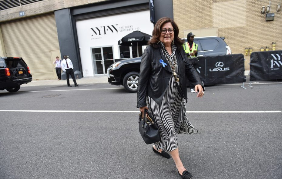 Fern Mallis, who received her BFA from the University at Buffalo, is the founder of New York Fashion Week. (David Handschuh)
