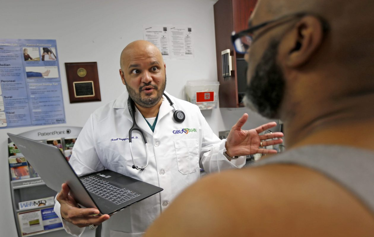 Dr. Raul Vasquez is the director of Urban Family Practice. (Robert Kirkham/Buffalo News)