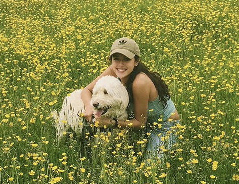 Rachel LoFaso, 16, an Iroquois Central High School student, with her dog, Ivy, in an undated photo. Rachel died in a two-car collision on Sunday, Jan. 14, 2018, in the town of Elma. (Courtesy of Frederic LoFaso)