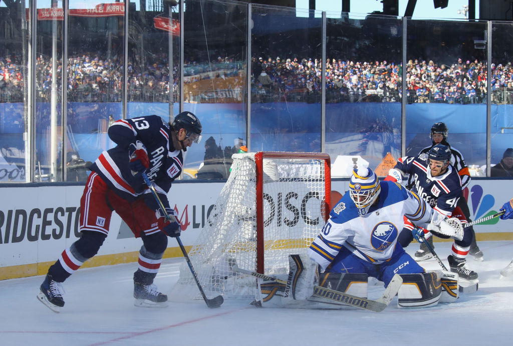 Lehner Grateful To Lundqvist For Instagram Post After Winter Classic