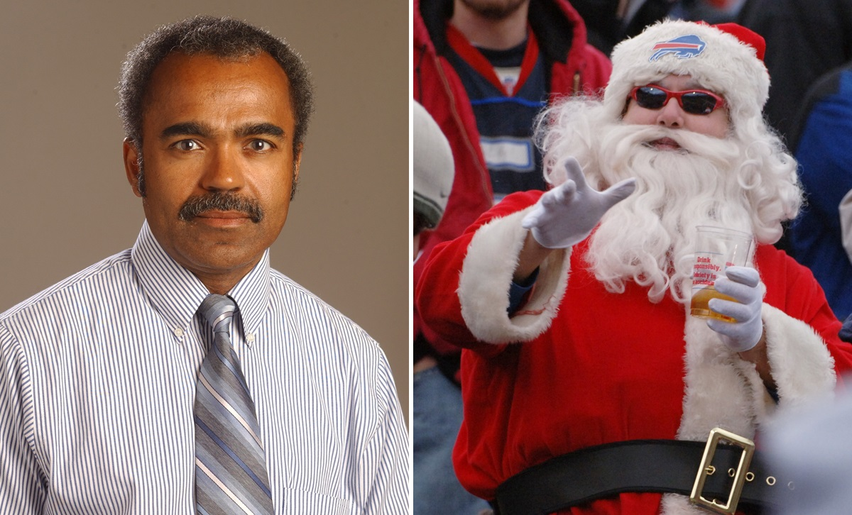 One reader comment on Rod Watson's column on the Bills: 'Is Santa Claus too jolly for you as well?' (News file photo; James P. McCoy)