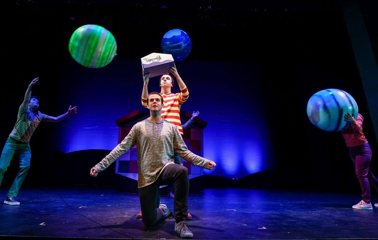 'Boy on the Edge of Everything' is a fun and insightful play for older kids presented by Theatre of Youth.