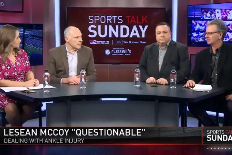 News columnists Jerry Sullivan and Bucky Gleason, Bills beat reporter Vic Carucci and WGRZ's Heather Prusak discuss LeSean McCoy's ankle injury and what impact it could have on Sunday's game.