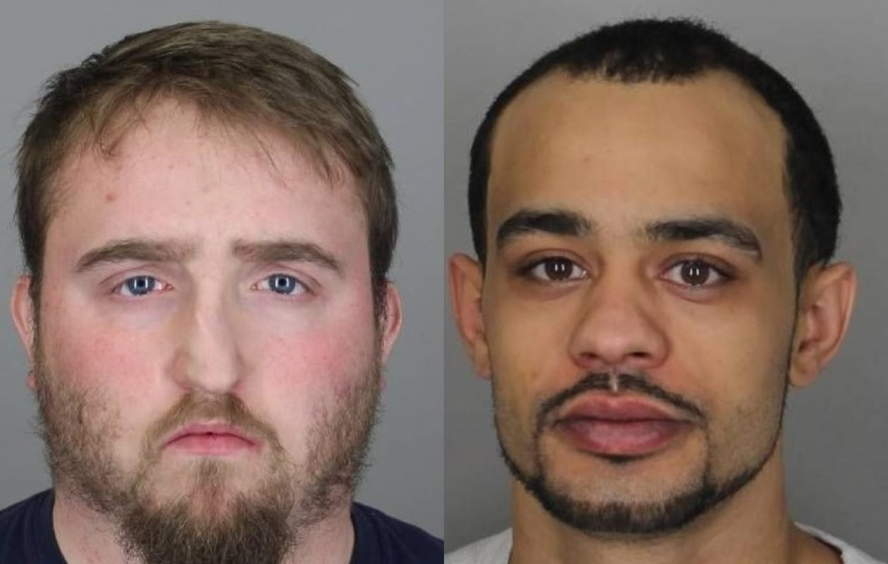 Ryan Walkowiak and Matthew Banks-Jubert were arrested by City of Tonawanda police on charges of stealing tools worth $42,000 from a warehouse.