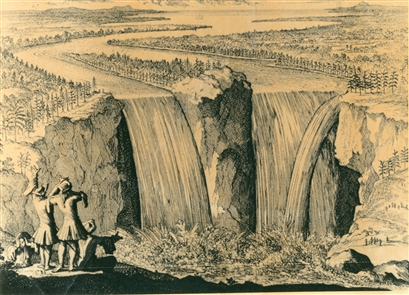 A look back: 300 years of Niagara Falls
