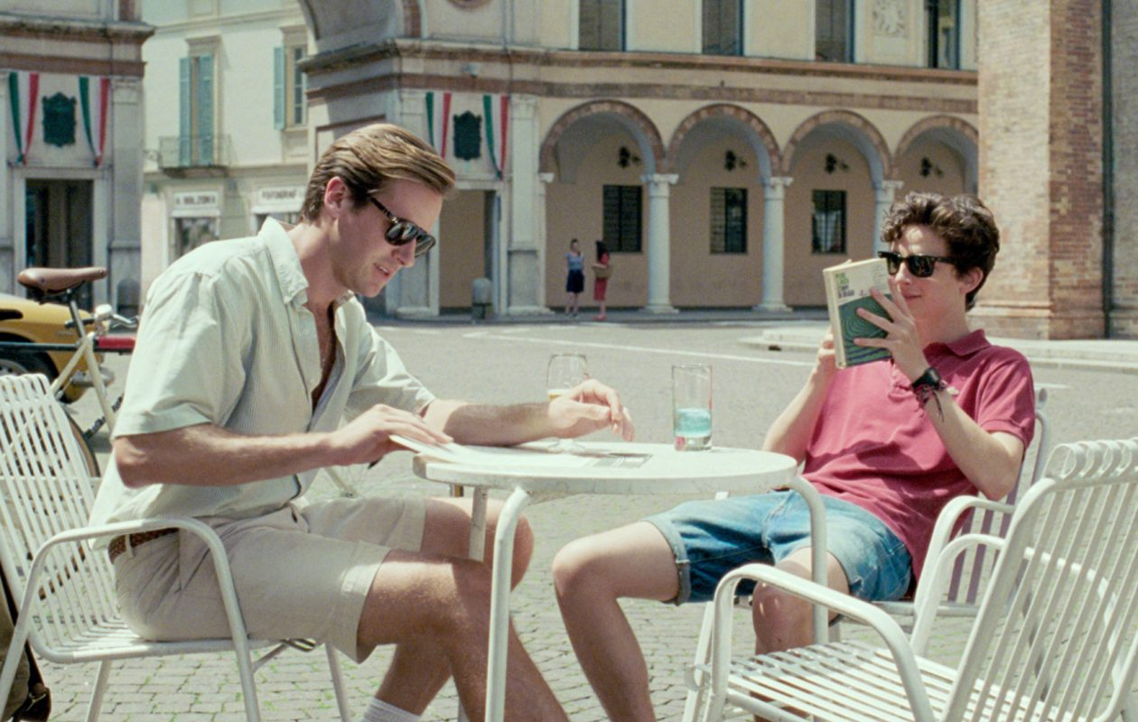 Armie Hammer, left, and Timothée Chalamet star in the critically acclaimed drama 'Call me By Your Name.' (Sony Pictures Classics)