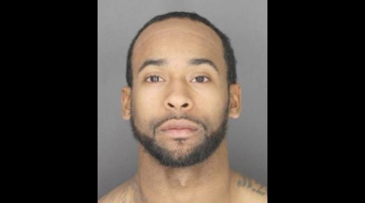Cortez Foster, 27, was arrested Monday night. (Photo courtesy of the Erie County Sheriff's Office)