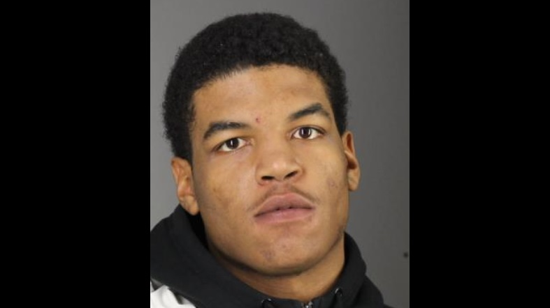Corey Green, 20, faces four counts of first-degree arson. (Photo courtesy Erie County Sheriff's Office)