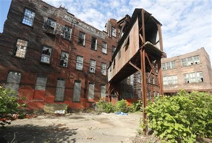 The Buffalo Left Behind: E.&B. Holmes Machinery Co.